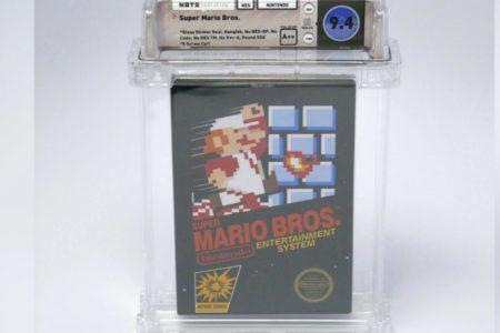 تنها نسخه پلمپ Super Mario Bros با قیمت ۱۰۰ هزار دلار به فروش رسید