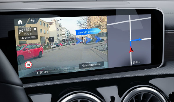 Advanced Navigation package for SE, Sport and AMG Line
