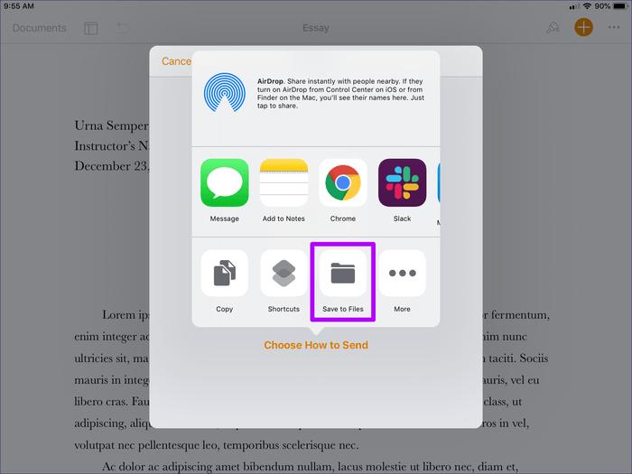 تبدیل فایل Pages به ورد