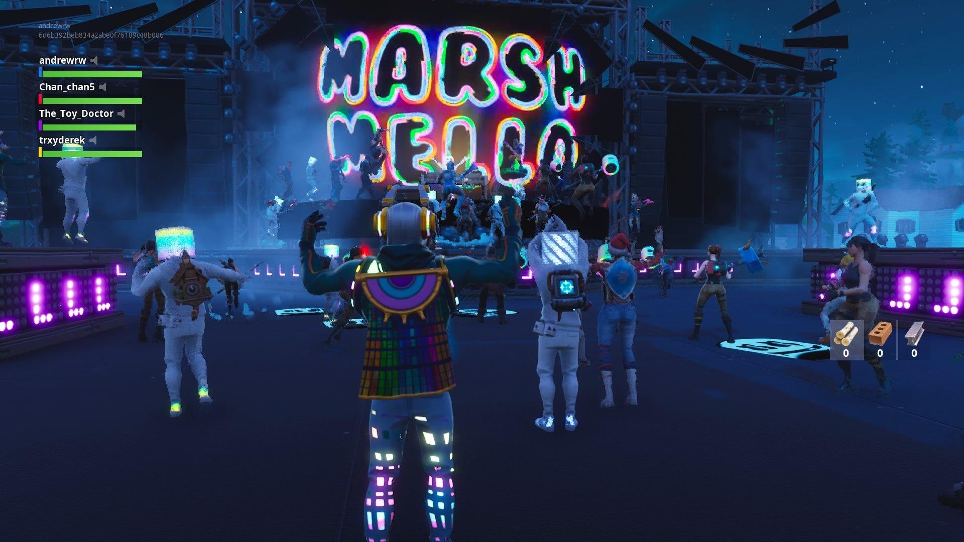 ده میلیون کاربر کنسرت مارشملو در فورتنایت را مشاهده کردند