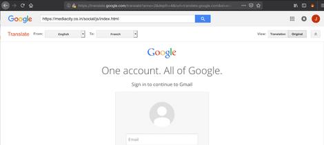 هک از طریق گوگل ترنسلیت