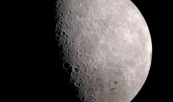 یخ در ماه