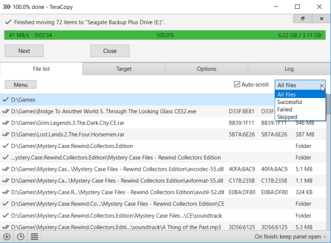 افزونه مدیریت فایل