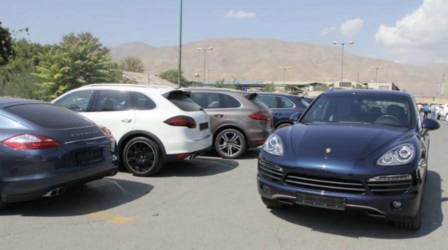 خودروهای دپو شده در گمرکات