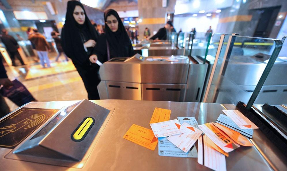 خرید آنلاین بلیت متروی پایتخت از سامانه تهران من محقق شد