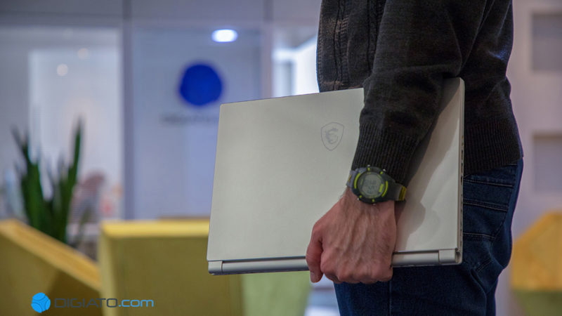 بررسی دیجیاتو: لپ تاپ MSI P65 8RD ؛ حرفه ای با لباس مبدل