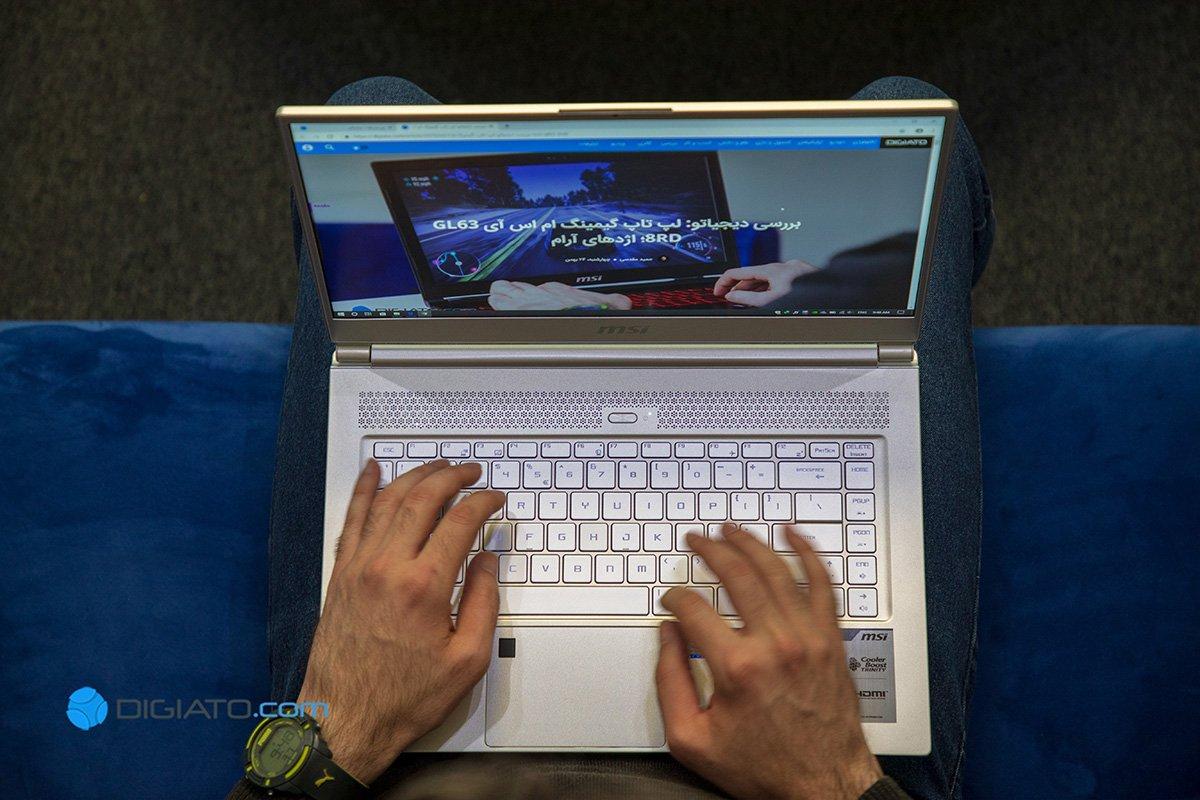 بررسی لپ تاپ MSI P65 8RD