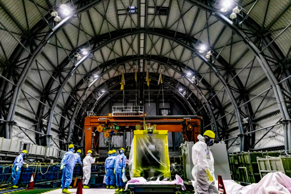 نیروگاه اتمی فوکوشیما