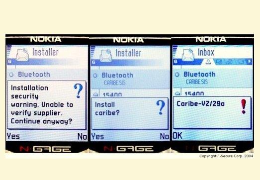 اولین ویروس موبایل