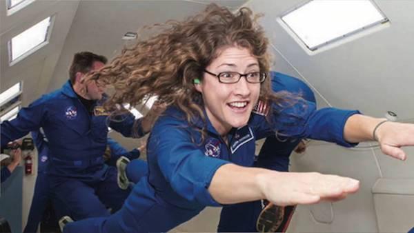 کریستینا کاچ فضانورد زن