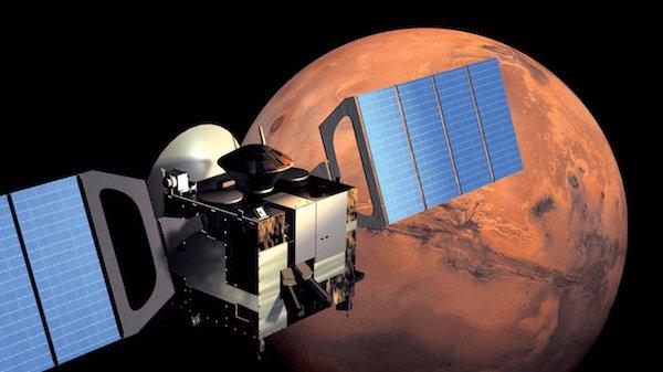 آب زیرزمینی در مریخ