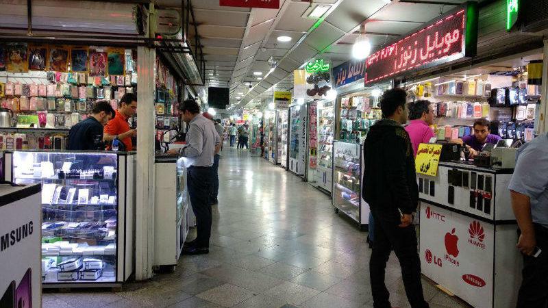 بازار گوشی مسافرتی