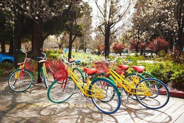 دوچرخه های جی بایک گوگل