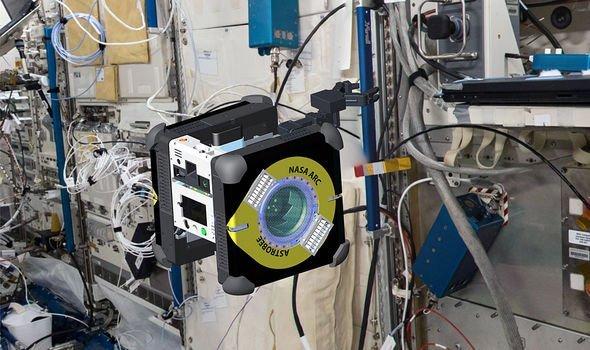 ربات خودشارژ ناسا