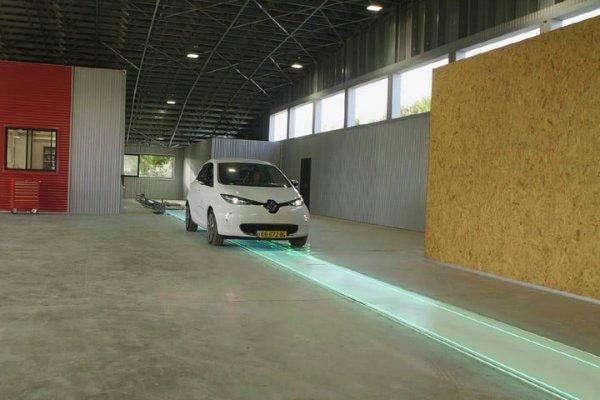 شارژ بی سیم خودرو برقی
