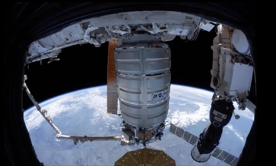 تایملپس جدید ناسا نحوه اتصال فضاپیما به ایستگاه فضایی بین المللی را نشان میدهد [تماشا کنید]
