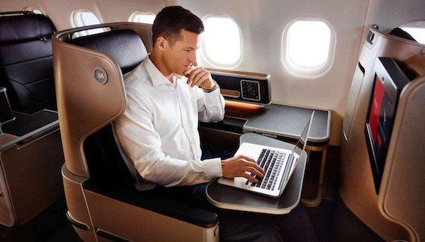 اینترنت درون پروازی