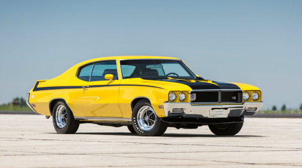1970 Buick GSX Bumblebee Classic Muscle Car