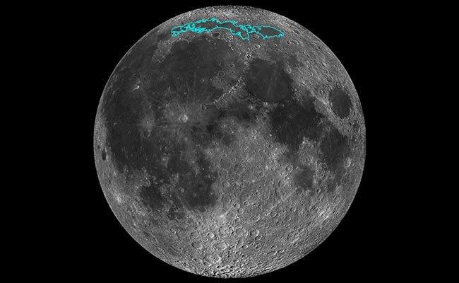 کوچک شدن ماه