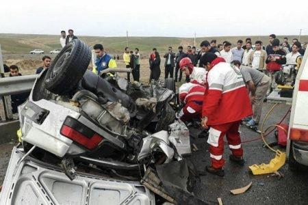 رشد ۱۱ درصدی تلفات تصادفات در پنج ماهه نخست امسال؛ استان فارس همچنان در صدر آمار تصادفات مرگبار