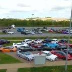 رقابت 120 خودرو اسپرت در بزرگ راه های آلمان؛ مسابقه ای غیر قانونی از نروژ تا چک