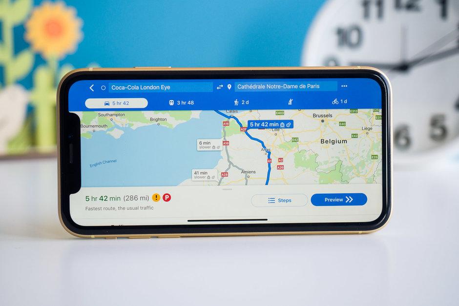 انتشار جهانی نمایش محدودیت سرعت جاده ای و دوربین های سرعت سنج در گوگل مپس