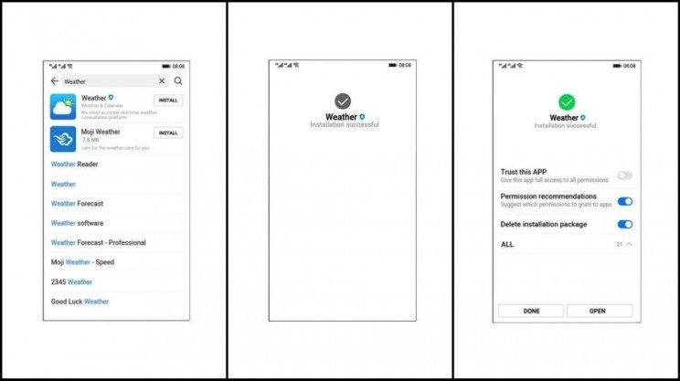 سیستم عامل موبایل هواوی آرک