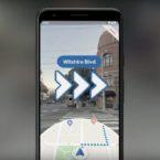گوگل مپس با واقعیت افزوده به گوشی های پیکسل می آید