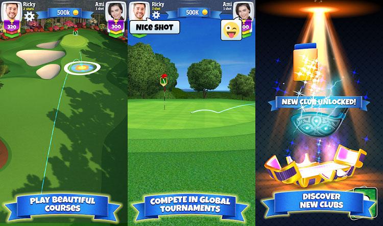 بازیهای گلف موبایل