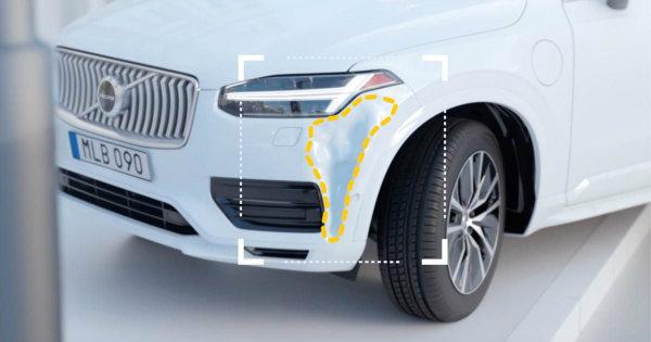 ولوو Car Accident Advisor، اپلیکیشنی که پس از تصادف به کمک رانندگان می شتابد