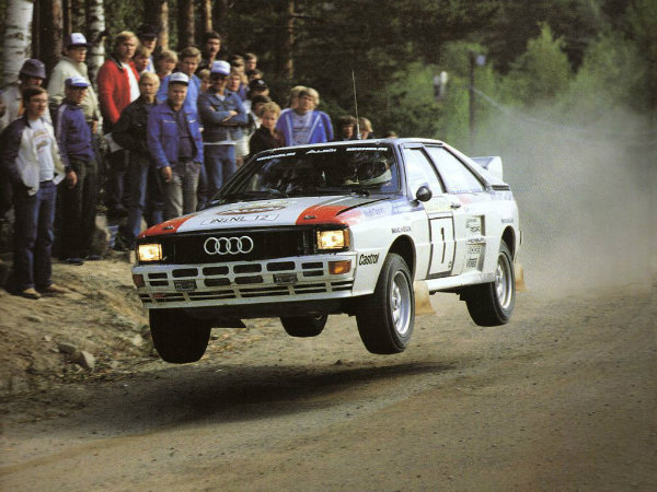 1984 Audi Quattro Group B Rally Car