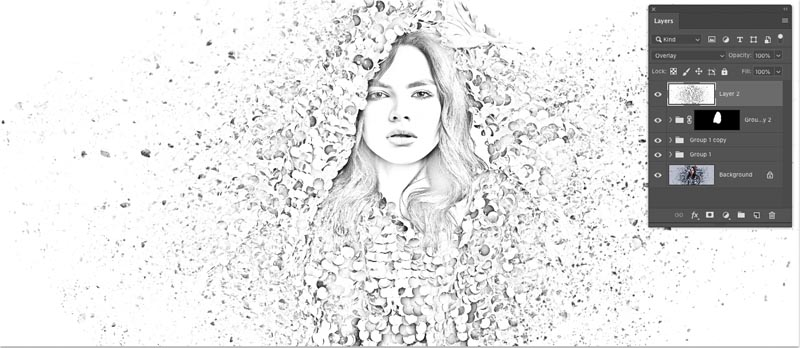 تبدیل عکس به نقاشی در فتوشاپ