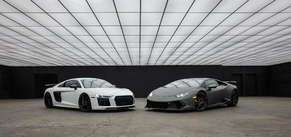 Audi R8 vs. Lamborghini Huracan