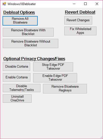 حذف برنامه های پیش فرض ویندوز