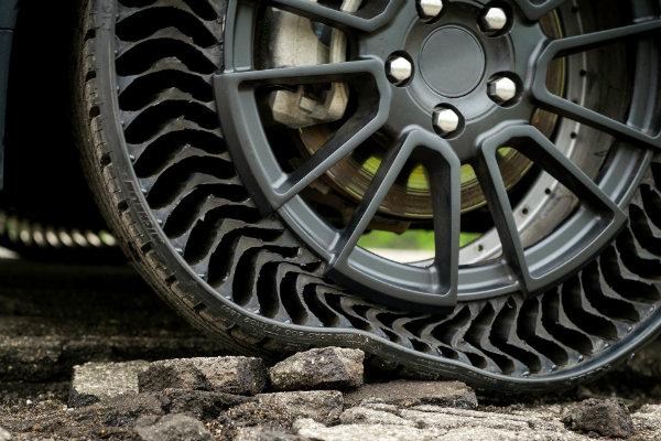 تایر خودرو جدید بدون باد