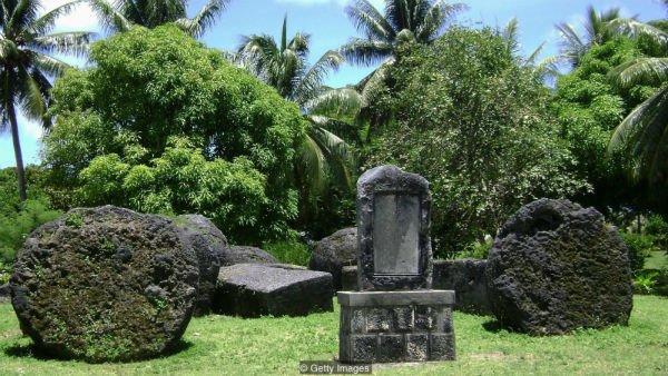 منزلگاه تاگا، رئیس افسانهای جزیره