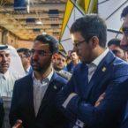 وزیر ارتباطات از غرفه ایرانسل در الکامپ بازدید کرد