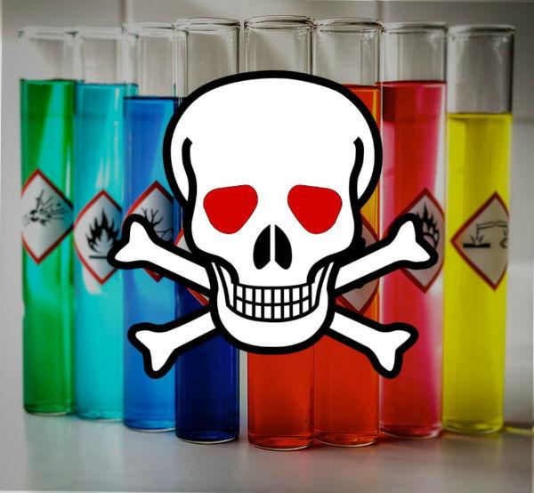 ماده شیمیایی بسیار خطرناک