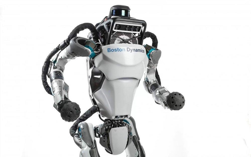 رباتیک بوستون داینامیکس ربات اطلس