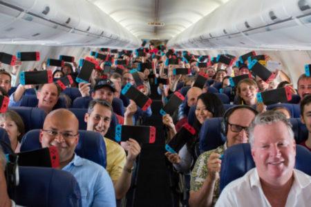 ایرلاین آمریکایی به تمامی مسافران خود یک دستگاه نینتندو سوییچ هدیه داد