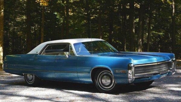 Gorgeous 1972 Chrysler Imperial LeBaron