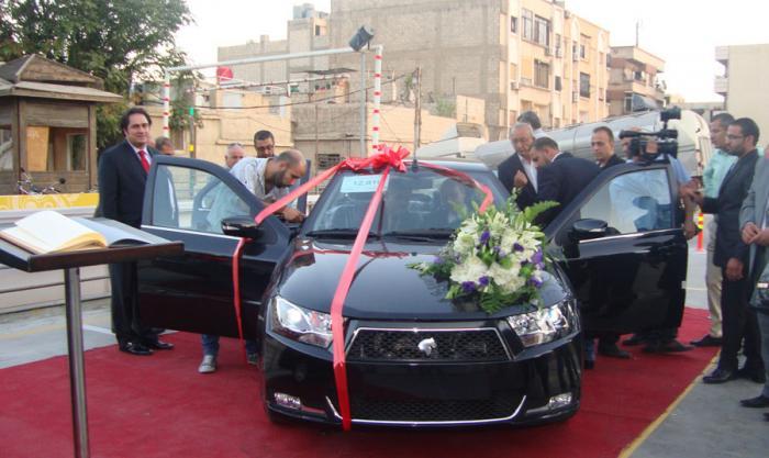 شام دنا سوریه ایران خودرو