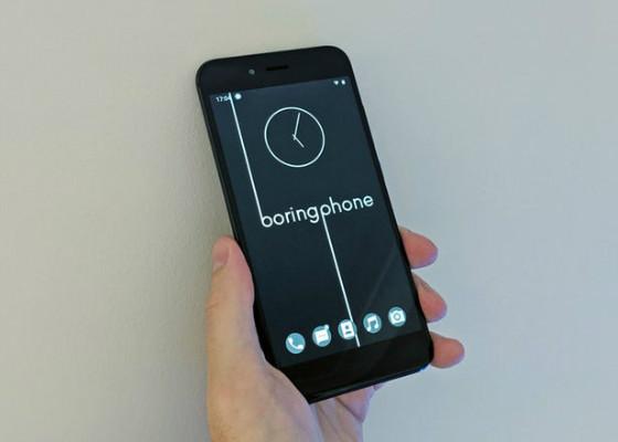 تلفن هوشمند ساده