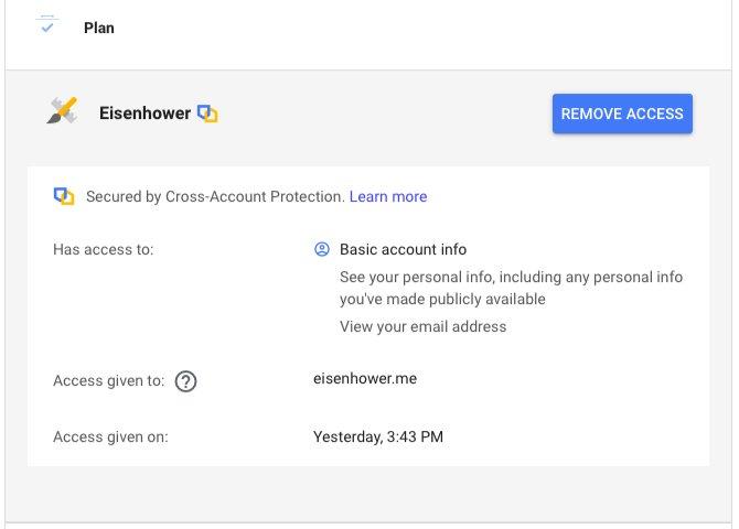 امنیت حساب کاربری گوگل