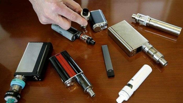 مصرف سیگار الکترونیکی