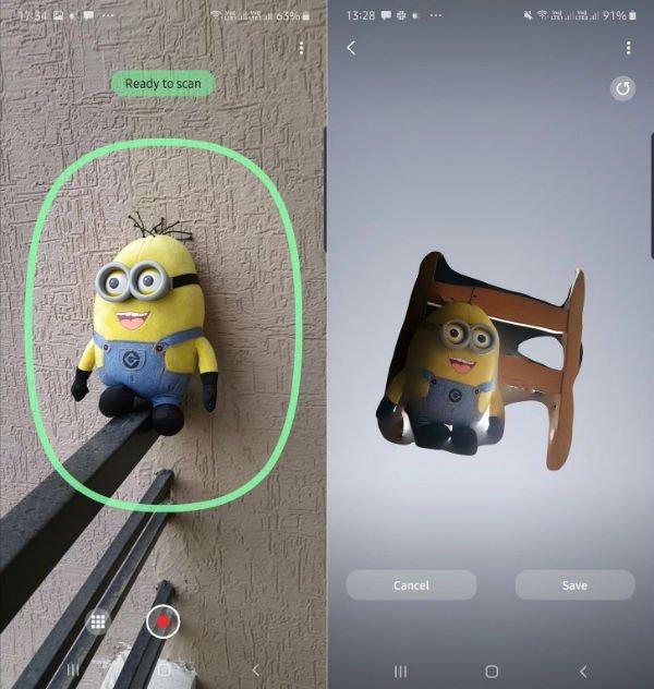 اپلیکیشن 3D Scanner