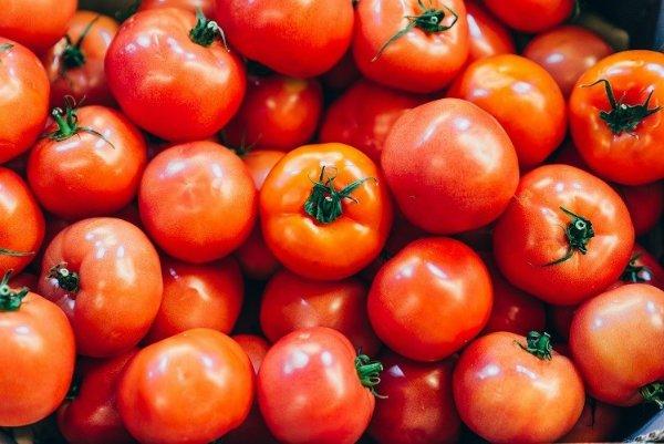Tomato-skin