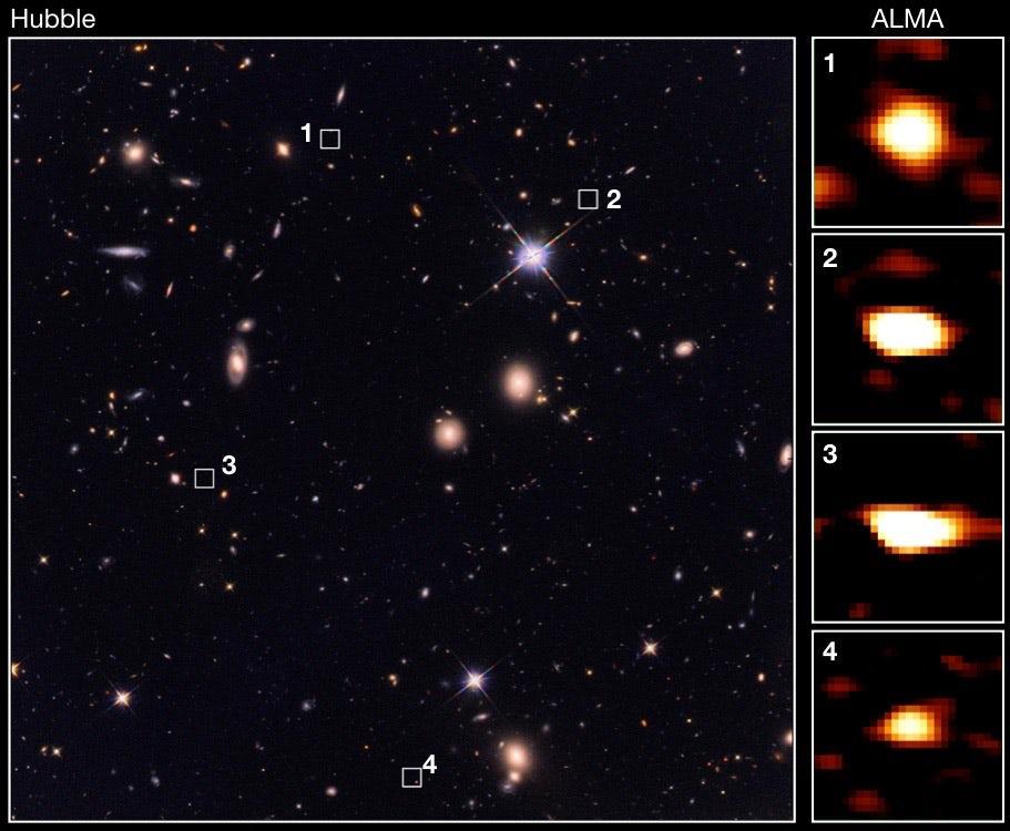 کهکشان های باستانی