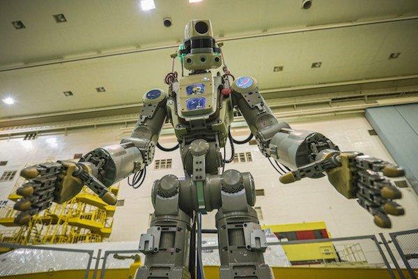 ربات انسان نمای روسیه