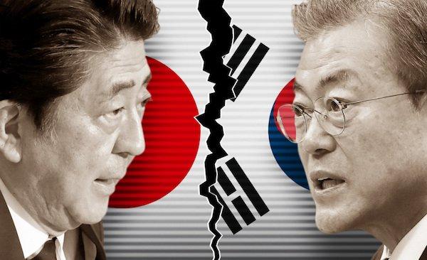 جنگ تجاری ژاپن و کره